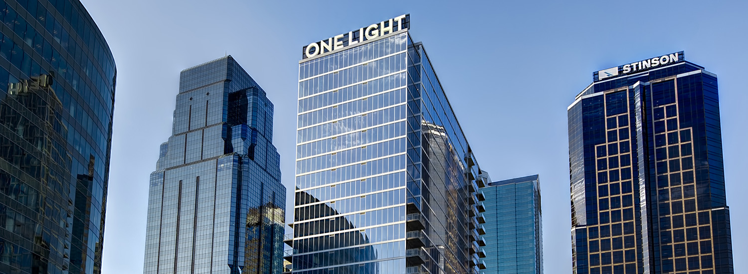 A Skyline of One Light Luxury Apartments